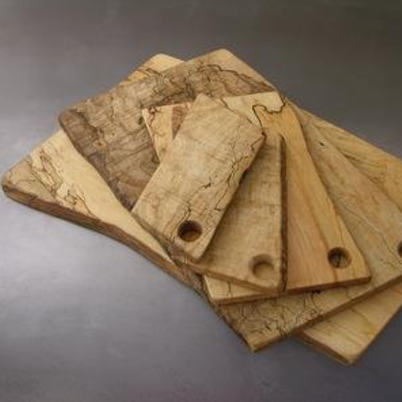 Spencer Peterman Spaulted Maple boards