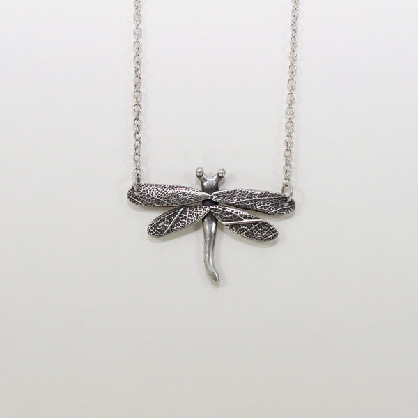 Dragonfly Necklace by Twigs and Heather