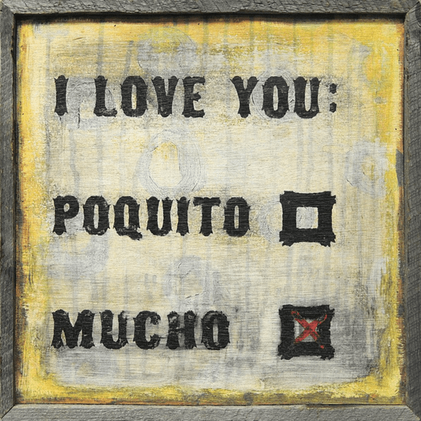 Sugarboo Designs I Love You Mucho Art Print