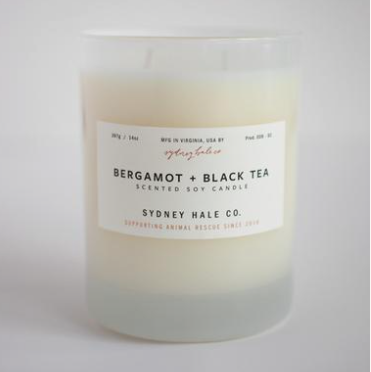 Bergamot & Black Tea Candle by Sydney Hale Company