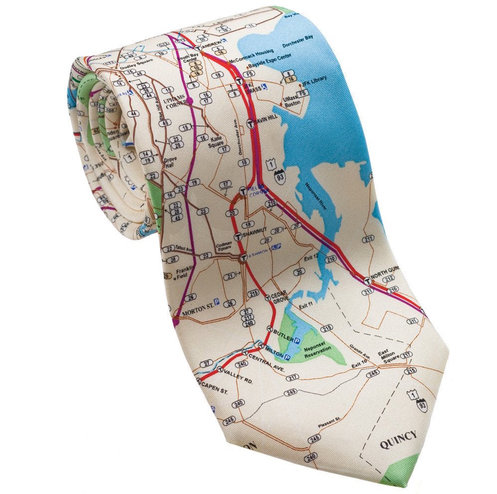 Josh Back 100% silk necktie | Boston T