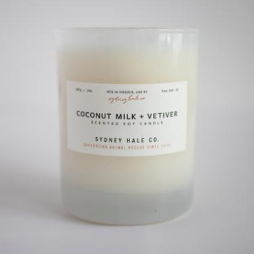Coconut Milk & Vetiver Candle by Sydney Hale Company