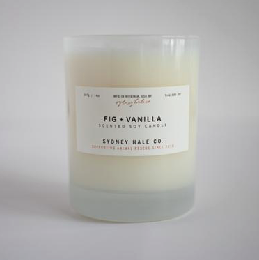 Fig & Vanilla Candle by Sydney Hale Company