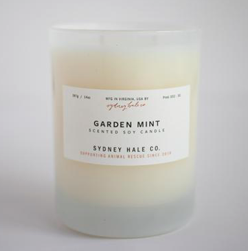 Garden Mint Candle by Sydney Hale Company