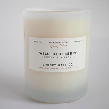 Wild Blueberry Candle by Sydney Hale Company