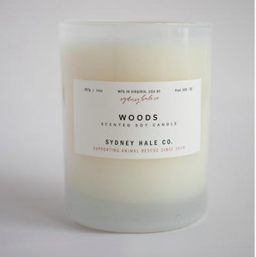 Woods Candle by Sydney Hale Company