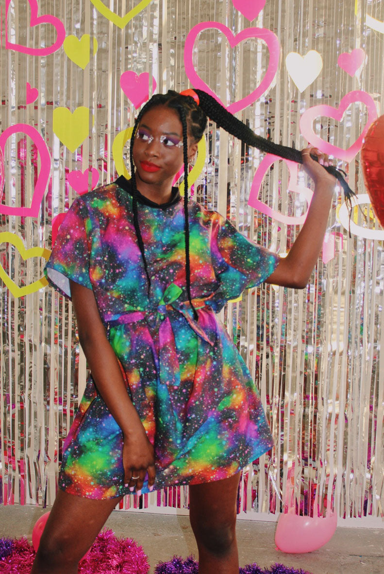 Sample Sale Art Attack Mini T-shirt Dress