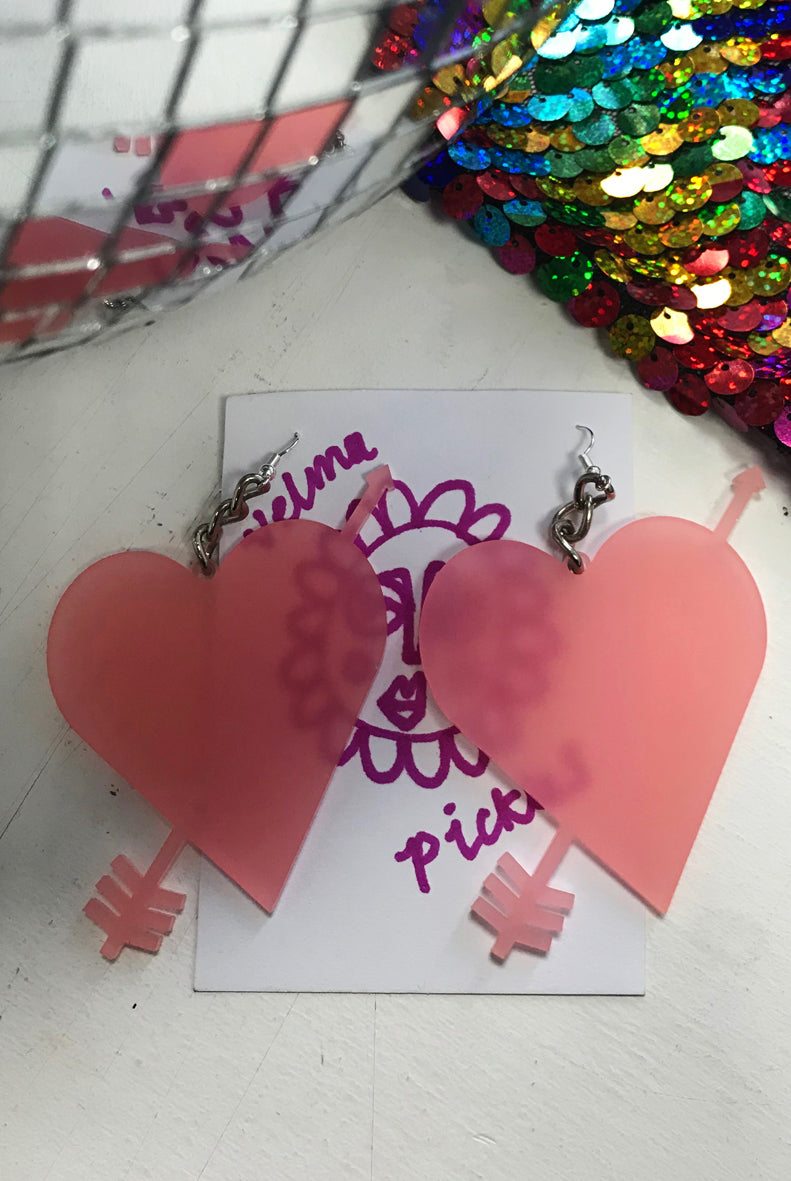 Cupid Light Pink Earrings
