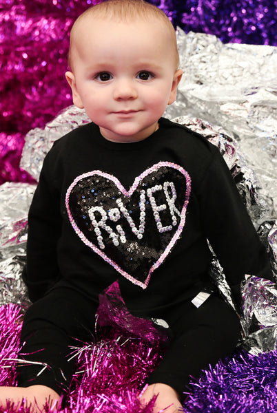 Baby Custom Sequin Sweater
