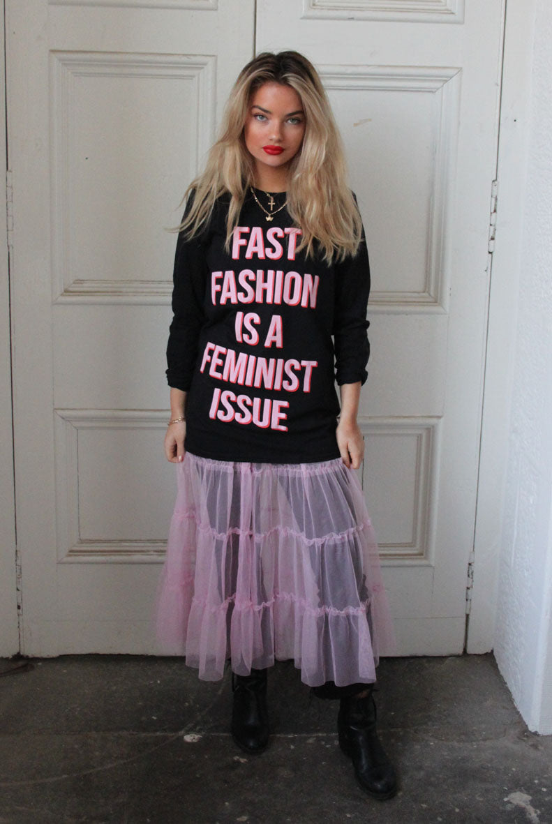 Fast Fashion is a Feminist Issue Long Sleeve T-Shirt