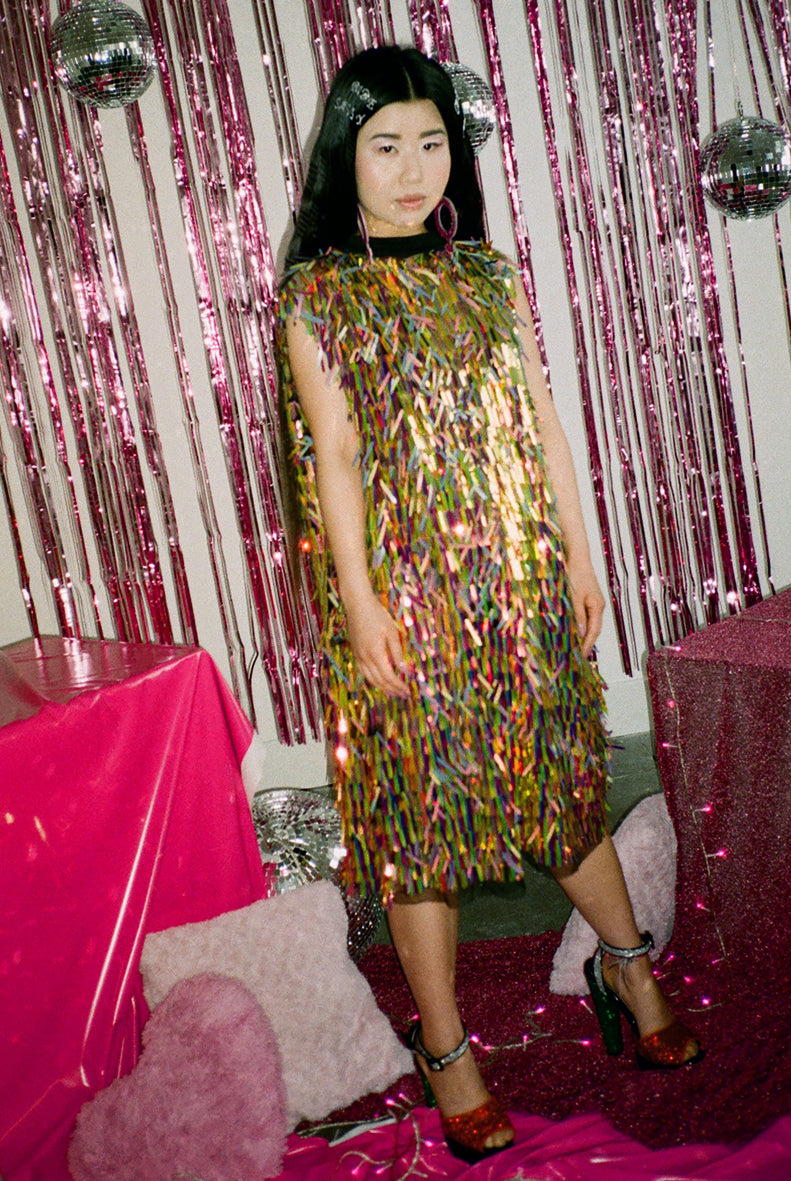 Copy of Sequin T-shirt Dress Workshop - JUNE DUNDEE