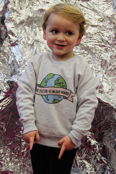 Kids Future In Our Hands Sweater