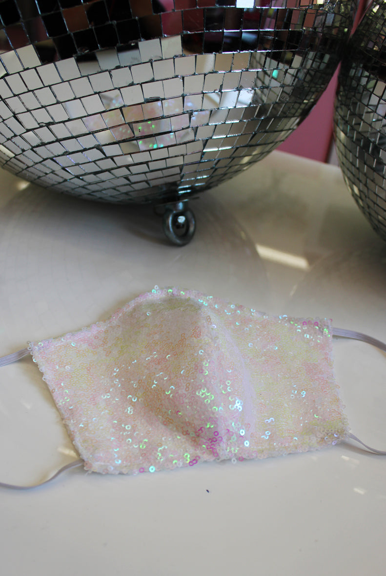 Zero Waste Charity Sequin Face Mask
