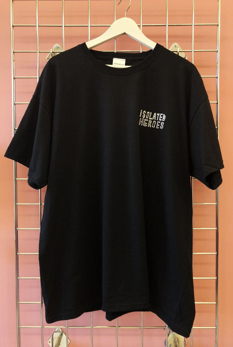 Black Isolated Heroes T-shirt