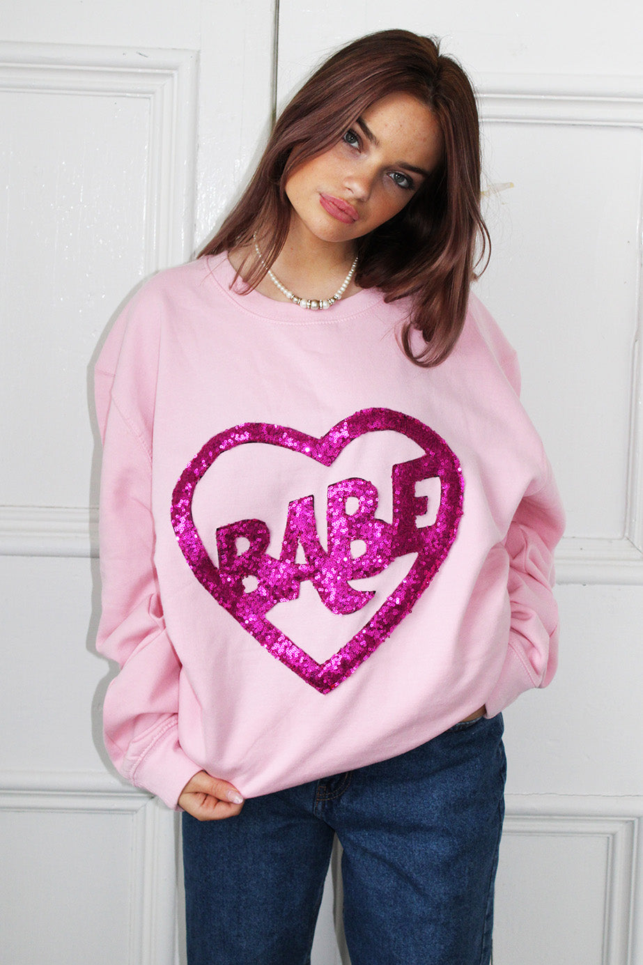 Boss Babe Sequin Sweater