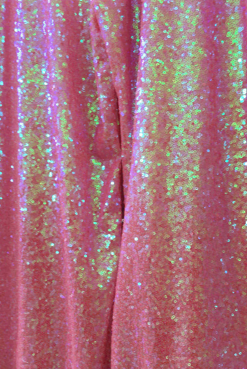 Sample Sale Sequin Baby Pink Flares