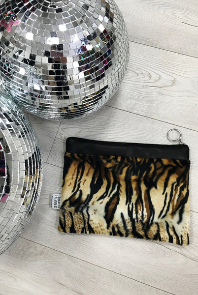 Easy Tiger Leather Clutch Bag