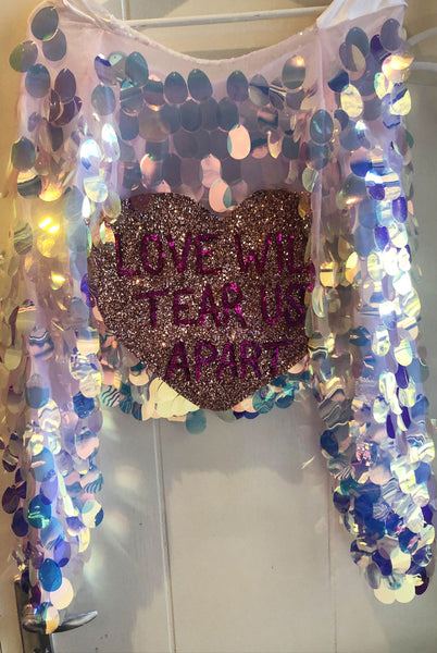Sample Sale Love Sequin Trophy Jacket