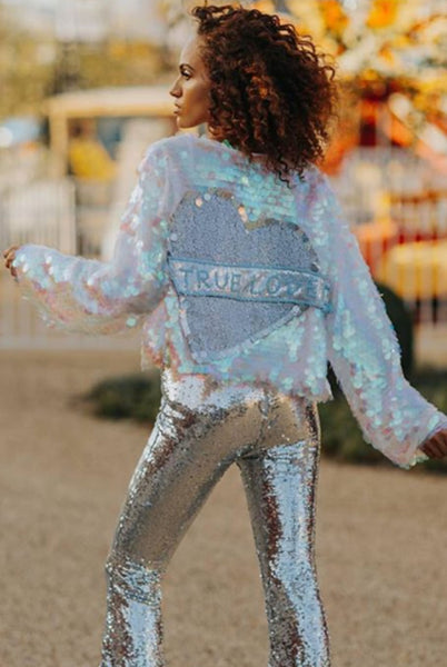 True Love Sequin Trophy Jacket