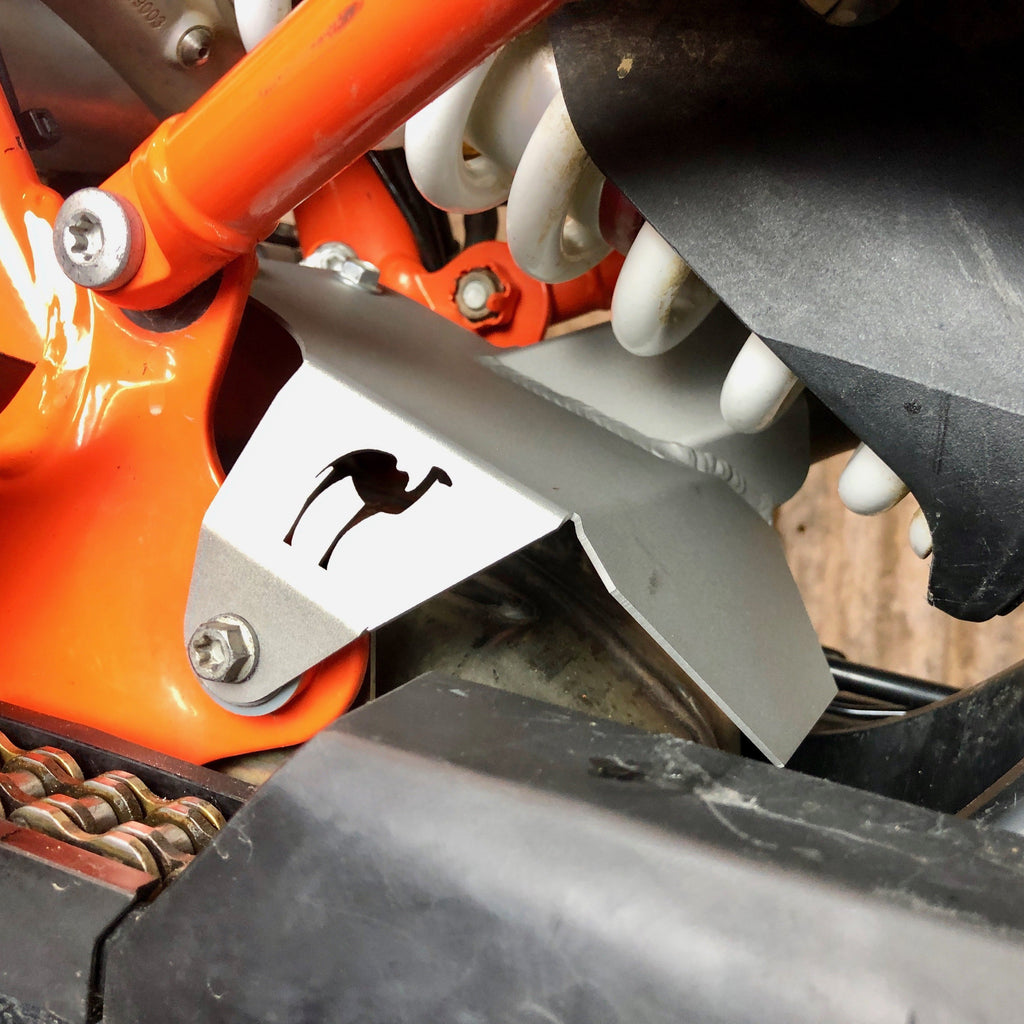 Camel ADV KTM 790 Shock Heat Shield
