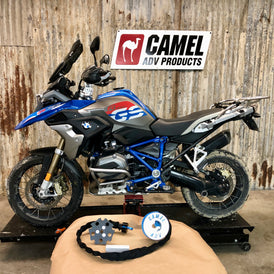 BMW R1200GS R1250GS Camel TOW Wheel Winch ADV