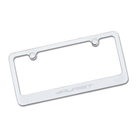Purist License Plate - Aluminum