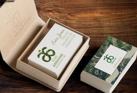 Arbonne 2-Sided Business Card Template - Independent Consultant Business Branding & Marketing - Arbonne Tree Business Card - digital detours