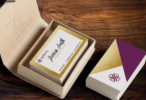 Jamberry 2-Sided Business Card Template - Independent Consultant Business Branding & Marketing - Jamberry Gold Foil Business card - digital detours
