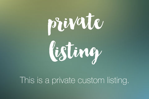 Private Listing - stella & dot Custom Business Card - digitaldetours