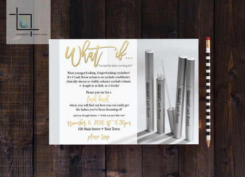 Rodan Fields PDF Party Invite Independent Consultant Business