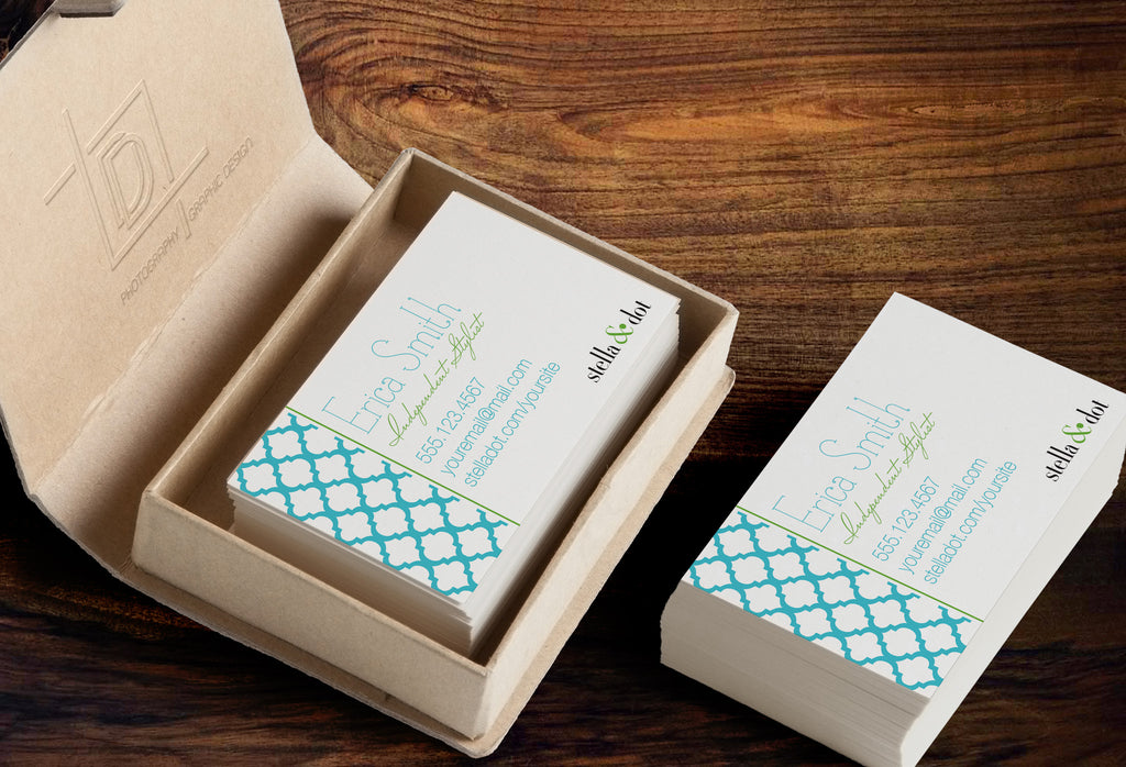 Stella dot business card template independent consultant default title colourmoves