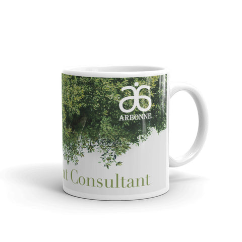Arbonne Partial Tree Mug made in the USA by digital detours - digital detours