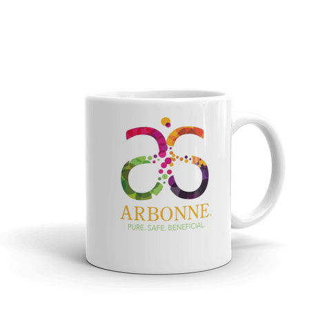 Arbonne Colorful Logo Mug made in the USA by digital detours - digital detours