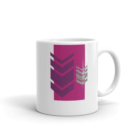 Jamberry Chevron Mug made in the USA by digital detours - digital detours