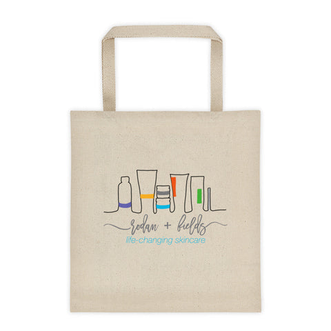 Rodan + Fields hand drawn products Tote bag by digital detours - digital detours