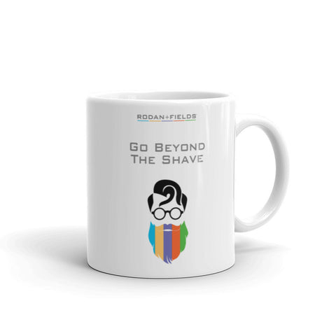 Rodan + Fields Beyond the Shave Mug made in the USA by digital detours - digital detours