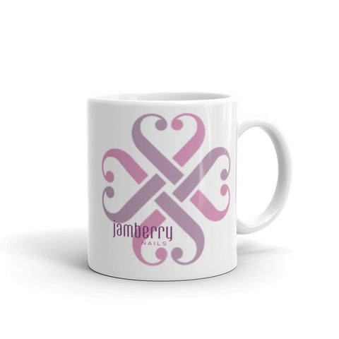 Jamberry Large Logo Mug made in the USA by digital detours - digital detours