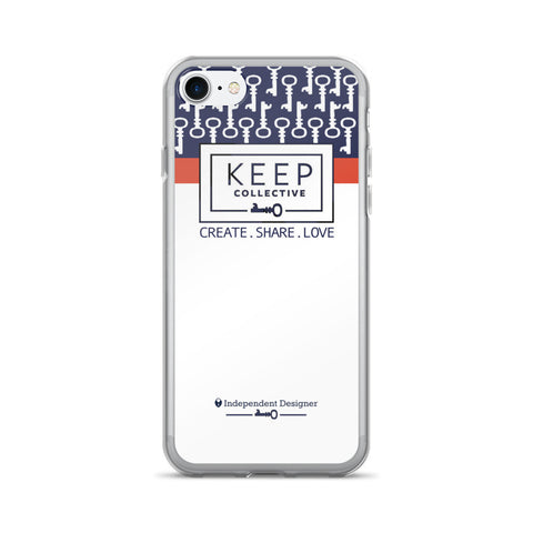 KEEP Collective iPhone 7/7 Plus Case by digital detours