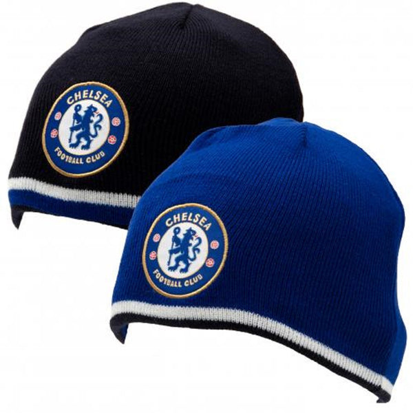 Chelsea FC - Reversible Knitted Hat - WEB SPECIAL