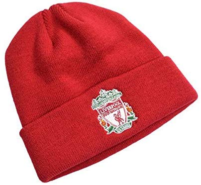 Liverpool FC  Classic Crest Red Turn Up Hat