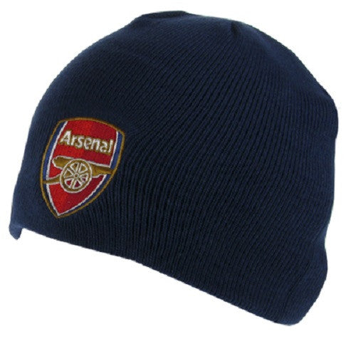 Arsenal FC Navy Knitted Hat