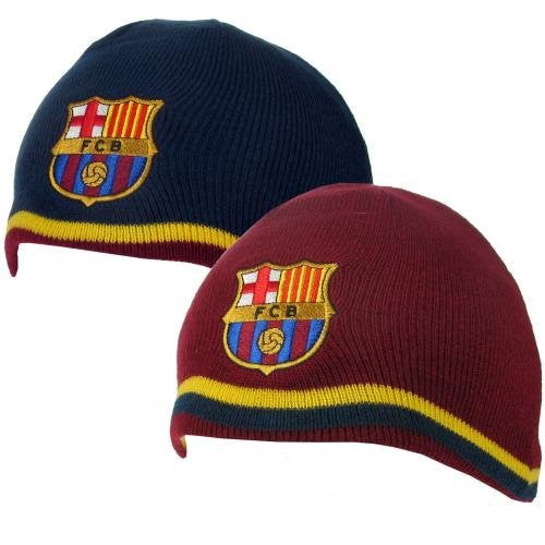 FC Barcelona - Reversible Knit Hat