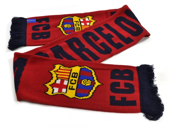 FC Barcelona Scarf - Burgundy - WEB SPECIAL LIMITED TIME