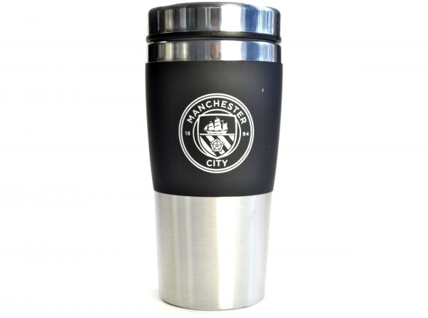 Manchester City FC Stainless Steel Travel Mug