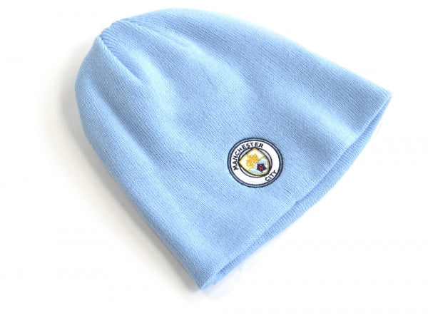 d4bf95cc3c5 Manchester City FC - Knitted Sky Hat - EverythingEnglish