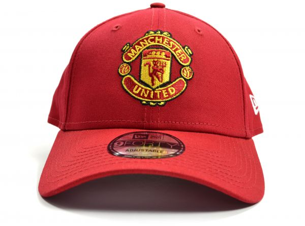 Manchester United FC  New Era 9Forty Red Crest Cap
