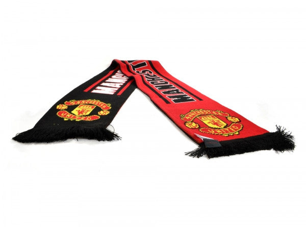 Manchester United FC Crest Scarf