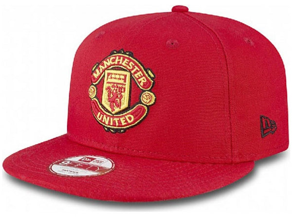 b2674956045 Manchester United FC New Era 9Fifty Red Snapback Cap - EverythingEnglish