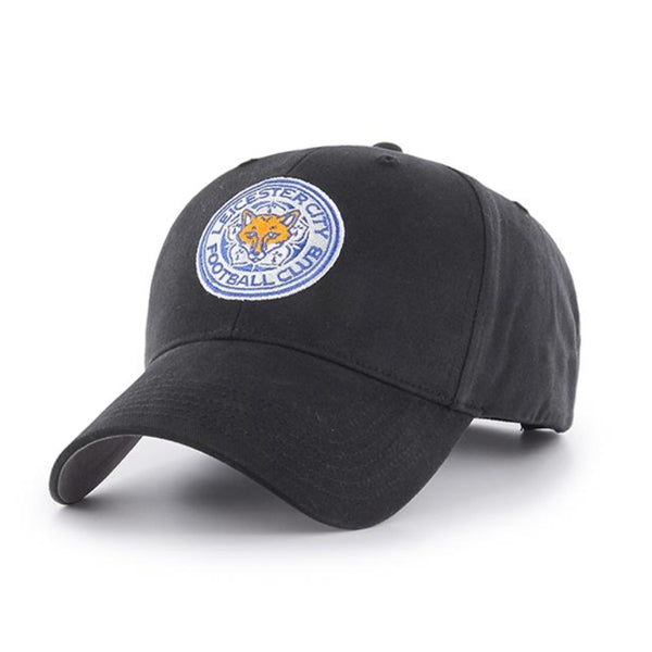 Leicester City FC Black Crest Cap