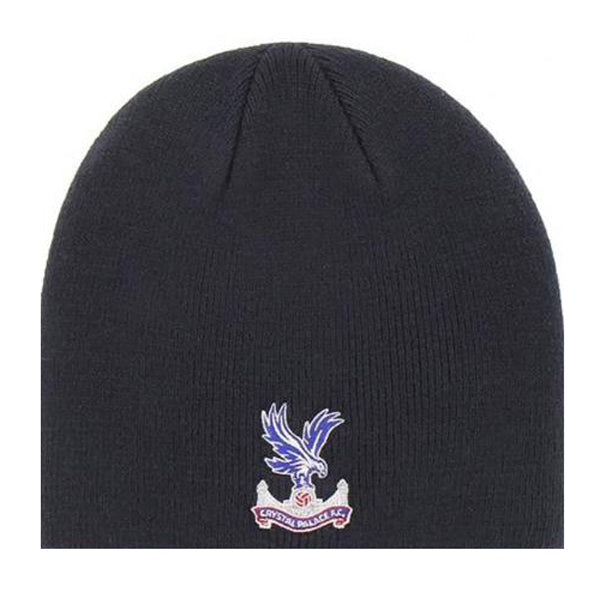 Crystal Palace FC Navy Crest Beanie Hat